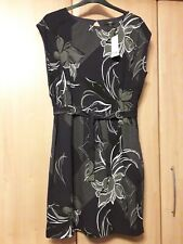 "L@@K NWT NEXT SIZE 20 HIPPIE BOHO PEASANT STYLE FLORAL PATERN 44"" BUST DRESS £30"