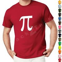 Pi Symbol Adult T-shirt Geek Nerd Math College Science Funny Humor Tee gift tee