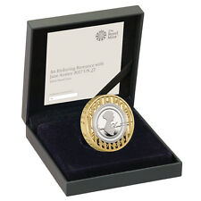 NEW Jane Austen £2 Silver Proof Coin 2017 Enduring Romance Two Pound Genuine Uk
