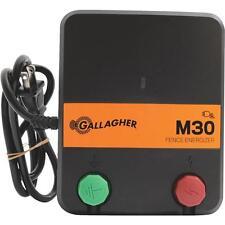 Gallagher M30 Electric Fence 10-20 Acres 2-5 Miles 110V Fencer Charger G331434