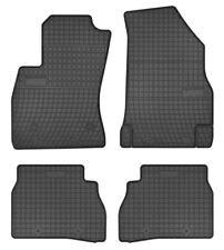 Gummifußmatten Gummimatten Fumatten Fiat Doblo II  4tlg.  von TN  Baujahr 2008 -