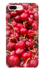 iPhone Mobile Phone Case Cover Cherry Cherries Fruit Quirky Funky Red Pattern