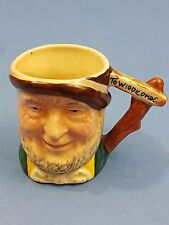 Lancaster & Sandland Ware Character Old Uncle Tom Cobley Toby Jug Collectable