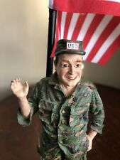Bob Hope Uso Figurine, History of Classic Entertainers, 1989, by Duncan Royale