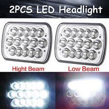 27450C H6014 Of Rectangular LED Headlights Beam For 5X7 GM Ford Van Jeep YJ XJ