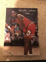 1990 MICHAEL JORDAN NBA Promo ALL-STAR #2 NMMT Chicago Bulls The Last Dance Card
