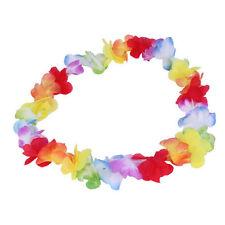 1pc Colorful Flower Garlands Hawaiian/Tropical Party Fancy Dress Necklace KK