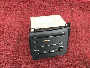 LEXUS 11-13 CT200h RADIO STEREO CD CHANGER UNIT SATELLITE PLAYER P10041 92K OEM