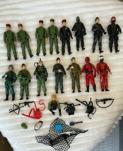 Vintage Palitoy Action Force Red Shadow, Radio Operator +++ Figures Job Lot x 15