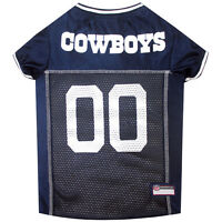 Dallas Cowboys NFL Pets First Licensed Dog Pet Mesh Jersey XS-2XL NWT