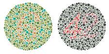 Framed Print – Colour Blind Test Chart (Picture Poster Eye Chart Ishihara Test)