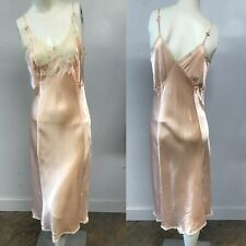 VTG 10 Piece Lot of 30's-40's Rayon Satin Negligee/Slips/Bed Jackets/Tap Pants
