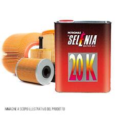 Kit tagliando auto, kit 3 filtri e 3 litri olio Selenia 20K 10W40 (KF1020/fo)