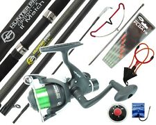 11' Complete Fishing Kit including Hunter Pro Rod & Reel, Net, Tackle and more