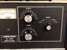 New - Ameritron Linear Amplifier Overlay for AL-82, AL-1200, and AL-1500