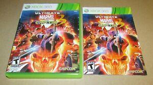 Ultimate Marvel VS. Capcom 3 (Case & Manual Only) Xbox 360