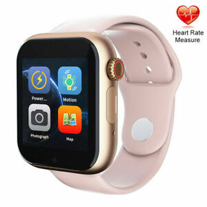 Pink Smart Watch Make Call Unlocked Sports Watch for Women Girls Lady Gifts