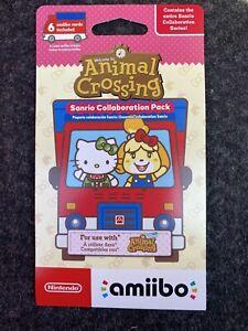 Nintendo amiibo Animal Crossing Sanrio Collaboration Pack - 6 Cards