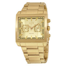 Armani Exchange AX2226 Exchange Gold Tone Dial Gold Tone Stainless Steel Watch