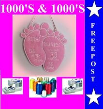 BABY EMBROIDERY DESIGNS PES FORMAT BUY ANY 2 CDS & GET A FREE FONT CD