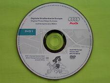 AUDI DVD NAVIGATION PLUS DEUTSCHLAND EU 2007 RNS-E A3 A4 A6 TT R8 8P0 919 884 M