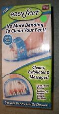 Easy Feet As Seen On TV - No More Bending to Clean Your Feet - 1 Pc NIB