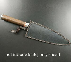 Japanese Chef Knife Sheath Deba Saya Sushi Knife Blade Guard Protector Case Bag
