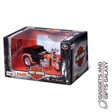 MAISTO HARLEY DAVIDSON SIDE CAR 3 WHEELER ass designs model car collectors gift