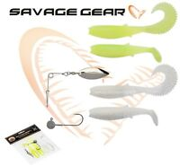 Savage Gear CANNIBAL SHAD KIT SPINNERBAIT Lure Fishing Soft Plastic Bait Jig lrf