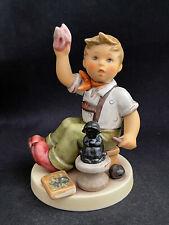 """Goebel Hummel 2180 The Final Sculpt Signed Skrobek Tmk8 5-1/4"""" Figurine Le 8000"""