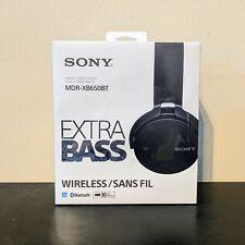 SONY MDR-XB650BT Black Wireless  Extra Bass Headband Headphones | New