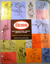 BOSS Manufacturing Copomany Catalog ASBESTOS Gloves 1975 Personal Safety Product