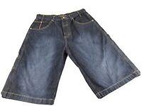 PHAT FARM Men's Blue DENIM Casual Shorts Size 34