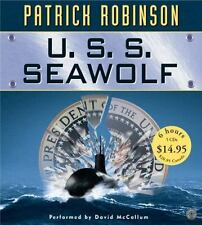 U. S. S. Seawolf by Patrick Robinson 2005, CD, Abridged AUDIO BOOK L@@K