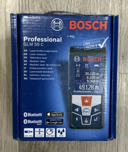 Bosch Professional GLM 50 C Laser Measure - NEW- Sealed - FREE POST