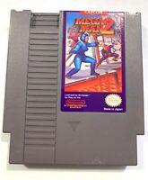 Mega Man 2 ORIGINAL NINTENDO NES Game Tested + Working & Authentic!