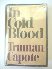 IN COLD BLOOD by TRUMAN CAPOTE 1965 *FIRST PRINTING* HC w/ JACKET NONFICTION VG+