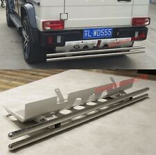 for Mercedes Benz W463 G class REAR GUARD SKID PLATE with BARS G550 G63 4x4