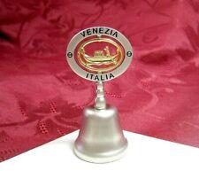 "New Venezia Italia Pewter Collectible Bell 2.5"""