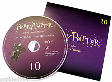 Harry Potter Deathly Hallows Stephen Fry Audio Book CD DISC SPARE: TEN 10