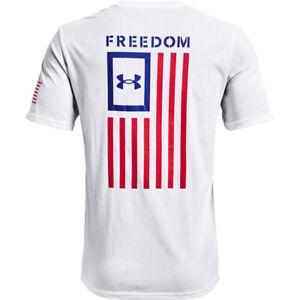 Under Armour 1370810 Men's Athletic UA Freedom Flag T-Shirt Short Sleeve Tee