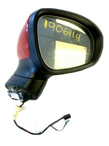 Mano izquierda del lado del pasajero para Fiat 500L 12-18 Ala Espejo De Cristal