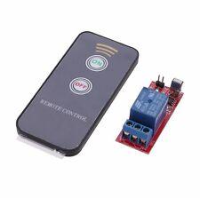 1pcs 1 canal infrarrojos relé conmutador conducción módulo Board 12v Control Remoto