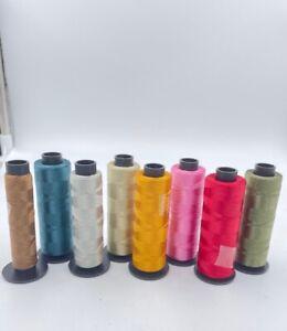 Stickgarn 81x 2000m Konen manifattura italiana cucirini Lustro 100% Polyester