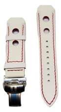 Original Tissot T-Touch White Leather Band Strap (For T33, Z252/352, Z253/353)