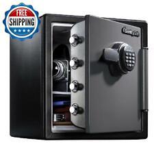 Safe Box Digital Electronic Keypad Lock Security Cash Fire Proof Home Office