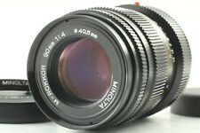 【NEAR MINT】 Minolta M-Rokkor 90mm F4 Lens for CLE CL Leica M From Japan #725
