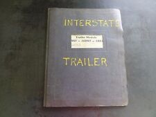 Interstate Trailers 12BST 16BST 18BST Parts and Service Manual