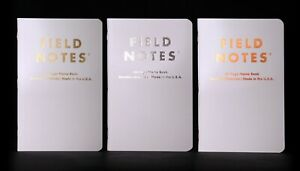 Field Notes Quarterly Edition: 'Group Eleven' - Set of 3 Dot-Graph Memo Books