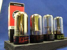 6AX4GT Rectifier Tubes (4) RCA
